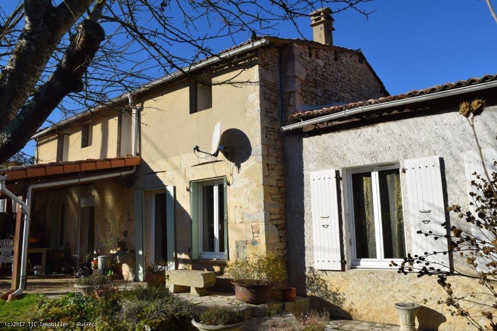 Maison Ancienne Habitable Avec Garage Et Jardin Tic Ruffec