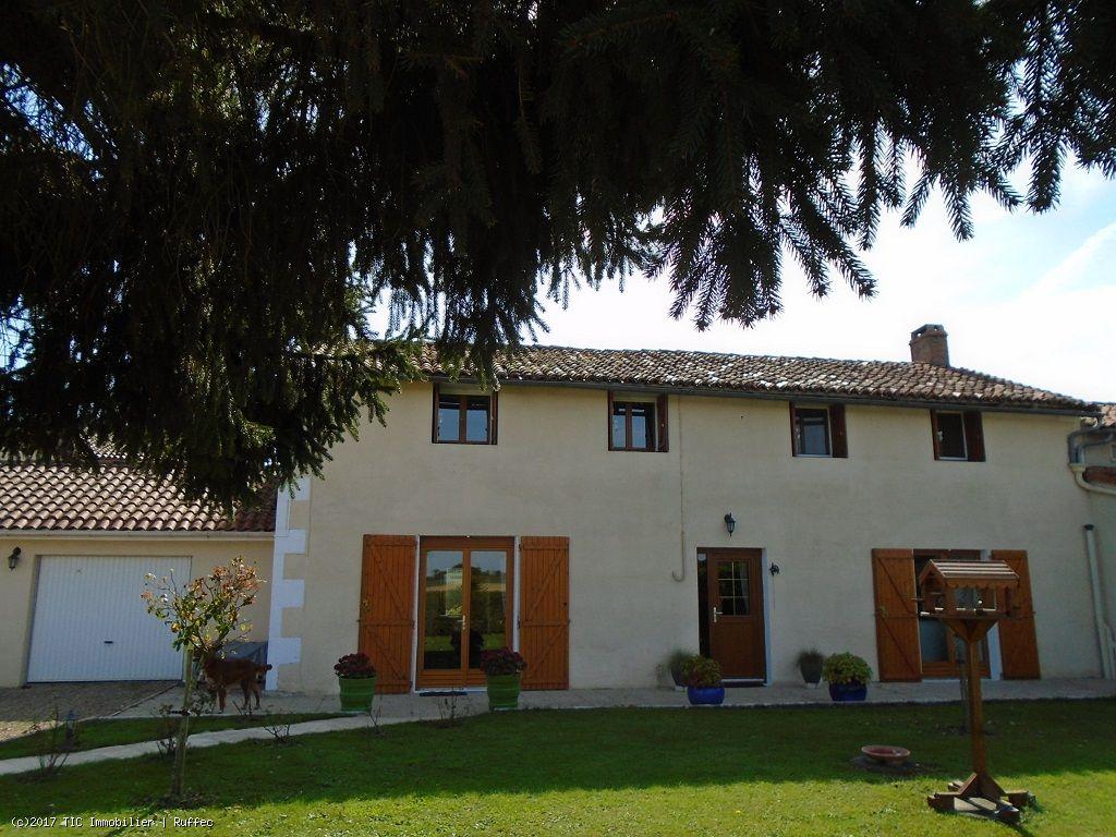 Maison Avec 3 Chambres Et Piscine Couverte Tic Ruffec Immobilier