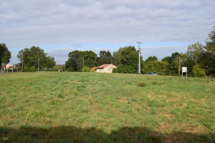 A Large Building Plot Between Ruffec And Aigre In A Quiet Location
