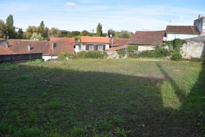 Small Building Plot In Ruffec Town Centre On 340m²